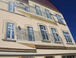 Architekt Auftrag, Fassademalerei 360, Objektgestaltung Brandenburg Havel