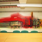 EON Energy from Waste3, Premnitz,Konferenzraum, künstlerische Objektgestaltung, Innenraumgestaltung