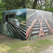 Brandenburg an der Havel, Illusionsmalerei, künstlerische Objektgestaltung,  Malerei, Fassadengestaltung, Giebelmalerei, Fassadenmalerei,