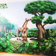 Kinderarztpraxis,1 Brandenburg Havel, künstlerische Objektgestaltung, Innenraumgestaltung