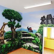 Kinderarztpraxis,2 Brandenburg Havel, künstlerische Objektgestaltung, Innenraumgestaltung
