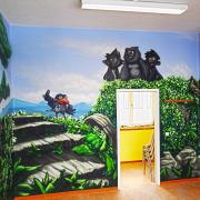 Kinderarztpraxis,3 Brandenburg Havel, künstlerische Objektgestaltung, Innenraumgestaltung