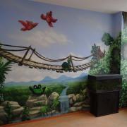 Kinderarztpraxis4, Brandenburg Havel, künstlerische Objektgestaltung, Innenraumgestaltung