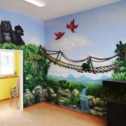 Kinderarztpraxis,5 Brandenburg Havel, künstlerische Objektgestaltung, Innenraumgestaltung