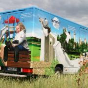 Hammer SHM GmbH, Spielplatzbau, Fahrzeuggestaltung,künstlerische Objektgestaltung, Fahrzeugbeschriftung, Airbrush