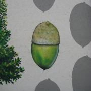 25 EG Stahl Brandenburg, Illusionsmalerei, trompe l'oeil  Malerei,Fassadengestaltung, Giebelmalerei, Fassadenmalerei,