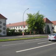 33 EG Stahl Brandenburg, Illusionsmalerei, trompe l'oeil  Malerei,Fassadengestaltung, Giebelmalerei, Fassadenmalerei,