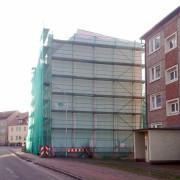 Rathenow, Illusionsmalerei,3 Fassadenmalerei,Giebelmalerei, Graffiti,