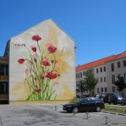 Wobra Werbetechnik 360art, Fassadenkunst Werbung, Objektart Fassadenmalerei