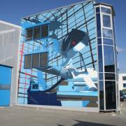 Firma Metallbau Windeck, Illusionsmalerei Fassadenkunst, künstlerische Objektgestaltung 360art