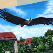 Teltow TWG Giebelmalerei Fassadengestaltung