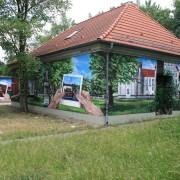 Oranienburg Stadt, Fassadengestaltung,  Fassadenmalerei, künstlerische Objektgestaltung,  Malerische Gestaltung, , Leinwand, Illusionsmalerei , Trompe l'oeil,  Graffitiauftrag
