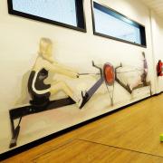 Rückenzentrum am Markgrafenpark - Berlin,Therapie, Illusionsmalerei, künstlerische Objektgestaltung, Fassadenkunst, Malerei, Innenraumgestaltung, Raumgestaltung, Beschriftung, Wandgestaltung,  Graffiti Kunst, Kunst am Bau, 360art, Marco Brzozowski